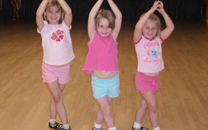 dancers at irish dance camp